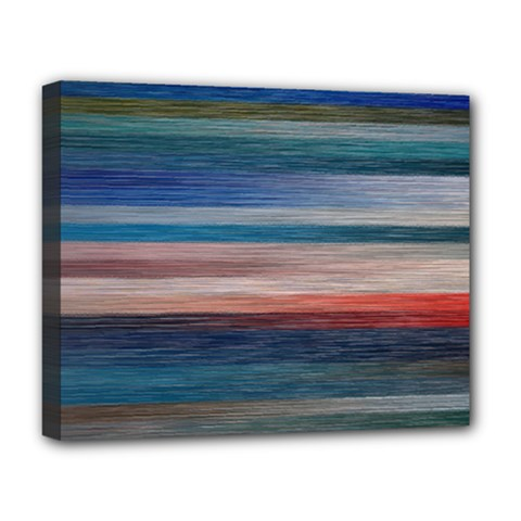 Background Horizontal Lines Deluxe Canvas 20  X 16