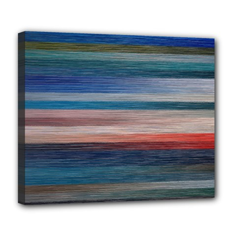 Background Horizontal Lines Deluxe Canvas 24  X 20