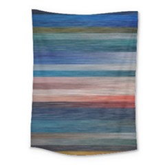 Background Horizontal Lines Medium Tapestry