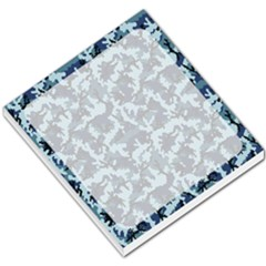 Camouflage Navy Small Memo Pad by sifis
