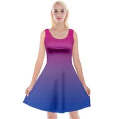 Bi Colors Reversible Velvet Sleeveless Dress by TailWags