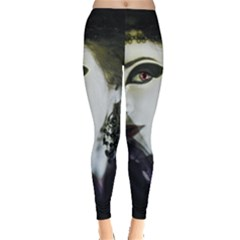 Goth Bride Leggings  by TailWags
