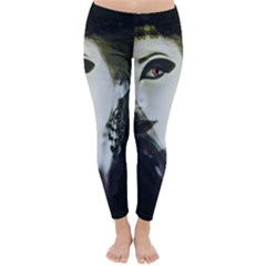 Goth Bride Classic Winter Leggings by TailWags
