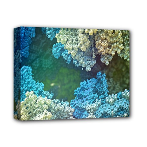Fractal Formula Abstract Backdrop Deluxe Canvas 14  X 11  by BangZart