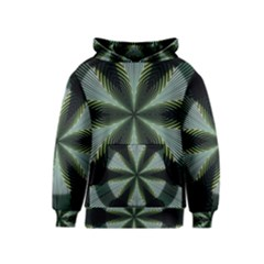 Lines Abstract Background Kids  Pullover Hoodie