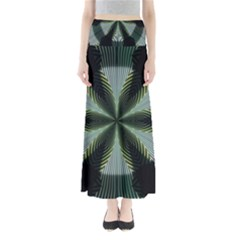 Lines Abstract Background Full Length Maxi Skirt