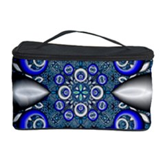 Fractal Cathedral Pattern Mosaic Cosmetic Storage Case by BangZart