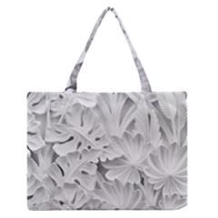 Pattern Motif Decor Medium Zipper Tote Bag