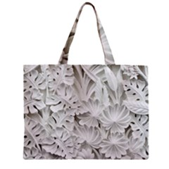 Pattern Motif Decor Zipper Mini Tote Bag by BangZart