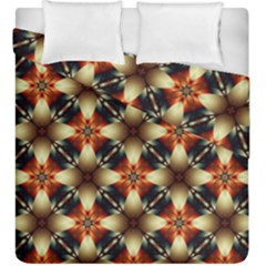 Kaleidoscope Image Background Duvet Cover Double Side (king Size) by BangZart