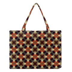 Kaleidoscope Image Background Medium Tote Bag by BangZart