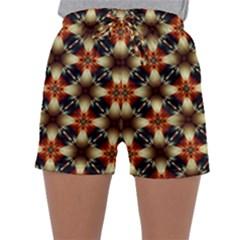 Kaleidoscope Image Background Sleepwear Shorts