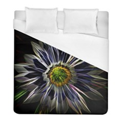 Flower Structure Photo Montage Duvet Cover (full/ Double Size) by BangZart