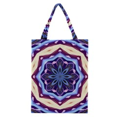 Mandala Art Design Pattern Classic Tote Bag by BangZart