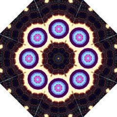 Mandala Art Design Pattern Straight Umbrellas by BangZart
