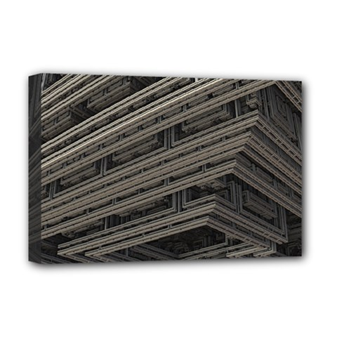 Fractal 3d Construction Industry Deluxe Canvas 18  X 12   by BangZart