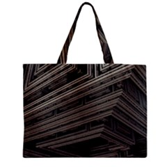 Fractal 3d Construction Industry Medium Tote Bag by BangZart