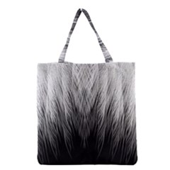 Feather Graphic Design Background Grocery Tote Bag by BangZart