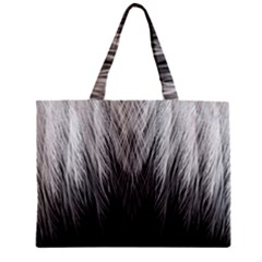 Feather Graphic Design Background Zipper Mini Tote Bag by BangZart