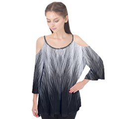 Feather Graphic Design Background Flutter Tees
