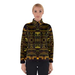 Abstract Glow Kaleidoscopic Light Winterwear