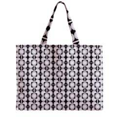 Pattern Background Texture Black Zipper Mini Tote Bag by BangZart