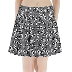 Paisley Pattern Paisley Pattern Pleated Mini Skirt