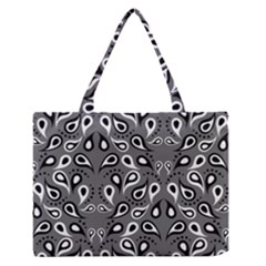 Paisley Pattern Paisley Pattern Medium Zipper Tote Bag