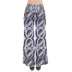 Metal Circle Background Ring Pants by BangZart