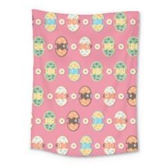 Cute Eggs Pattern Medium Tapestry by linceazul