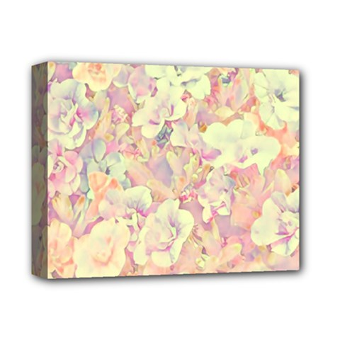 Lovely Floral 36b Deluxe Canvas 14  X 11  by MoreColorsinLife