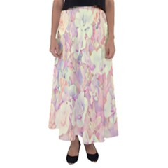 Lovely Floral 36b Flared Maxi Skirt
