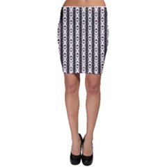 Pattern Background Texture Black Bodycon Skirt by BangZart