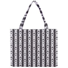 Pattern Background Texture Black Mini Tote Bag by BangZart