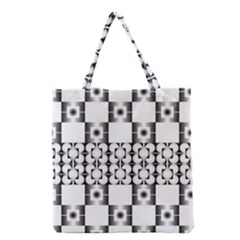 Pattern Background Texture Black Grocery Tote Bag by BangZart