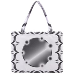 Metal Circle Background Ring Mini Tote Bag by BangZart