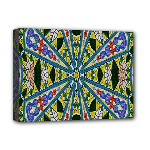 Kaleidoscope Background Deluxe Canvas 16  X 12   by BangZart