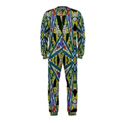 Kaleidoscope Background Onepiece Jumpsuit (kids)
