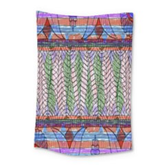 Nature Pattern Background Wallpaper Of Leaves And Flowers Abstract Style Small Tapestry