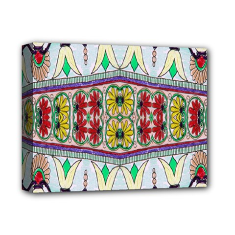 Kaleidoscope Background  Wallpaper Deluxe Canvas 14  X 11  by BangZart