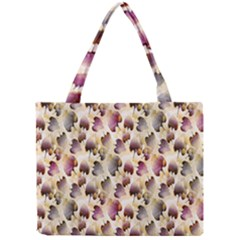 Random Leaves Pattern Background Mini Tote Bag