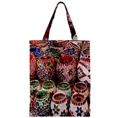 Colorful Oriental Candle Holders For Sale On Local Market Classic Tote Bag
