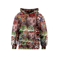 Colorful Oriental Candle Holders For Sale On Local Market Kids  Pullover Hoodie