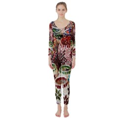 Colorful Oriental Candle Holders For Sale On Local Market Long Sleeve Catsuit