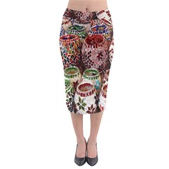 Colorful Oriental Candle Holders For Sale On Local Market Midi Pencil Skirt