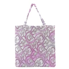 Floral Pattern Background Grocery Tote Bag by BangZart