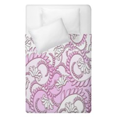 Floral Pattern Background Duvet Cover Double Side (single Size)