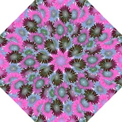 Floral Pattern Background Folding Umbrellas by BangZart