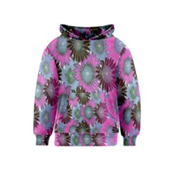 Floral Pattern Background Kids  Pullover Hoodie