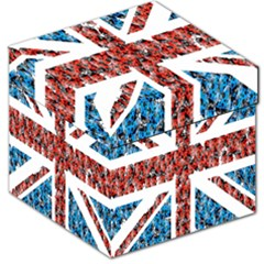 Fun And Unique Illustration Of The Uk Union Jack Flag Made Up Of Cartoon Ladybugs Storage Stool 12   by BangZart